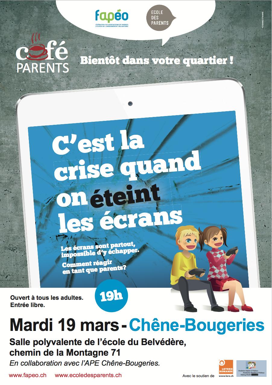 Affiche du Café des parents